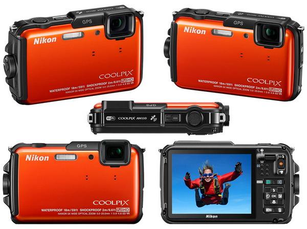 фотоаппарат Nikon Coolpix AW110