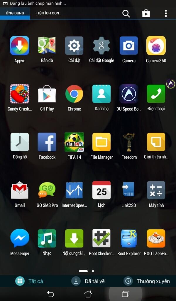 Сервисы ASUS Fonepad 8