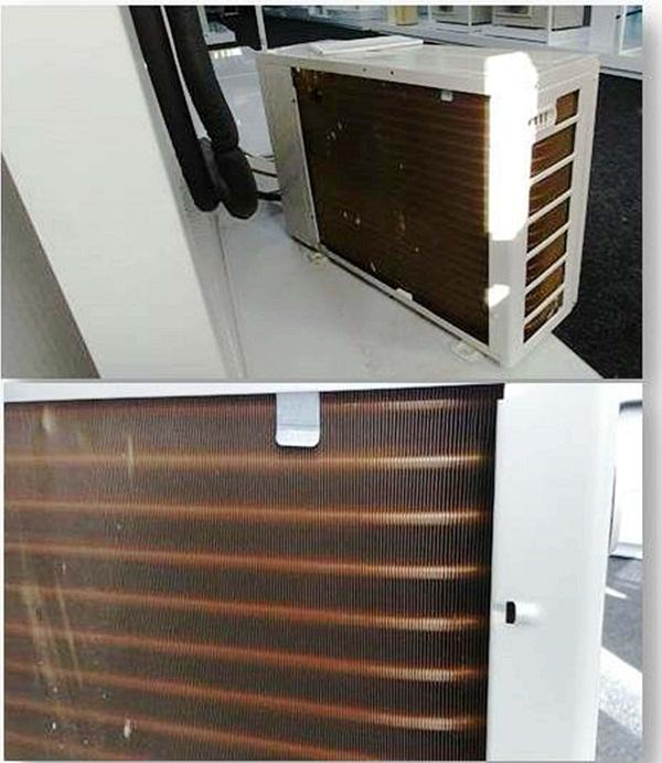 Чистка промывка теплообменника наружного блока