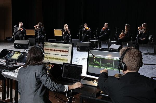 Музыканты Лондонского овощного оркестра