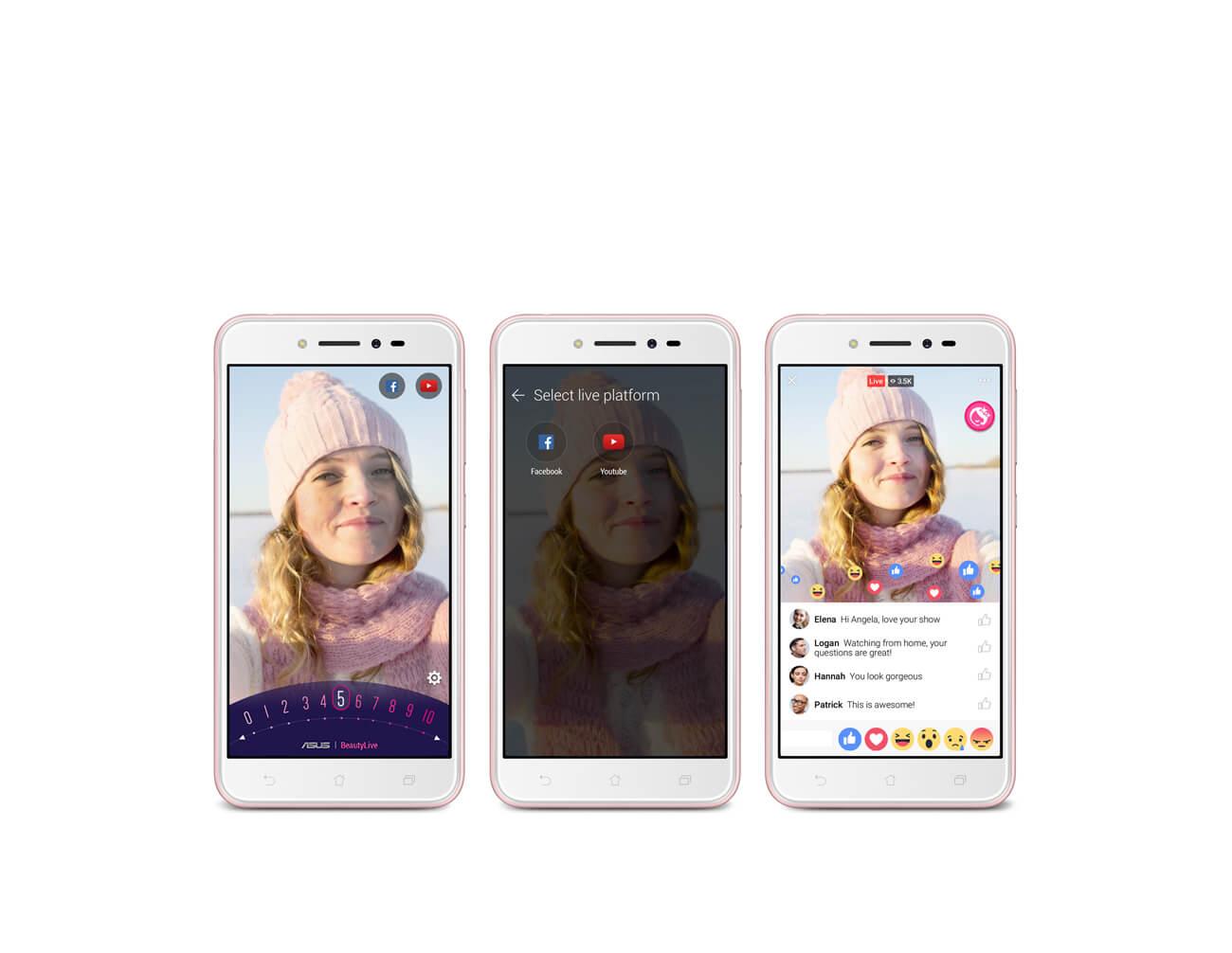 смартфон Asus ZenFone Live