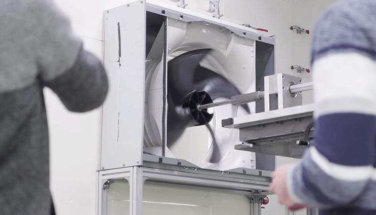 Камера тестирования вентиляторов