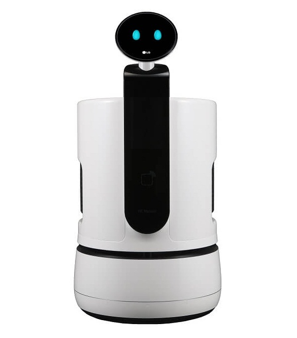 робот тележка для покупок