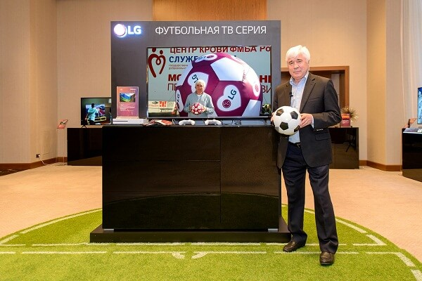 футбольная серия телевизоров LG