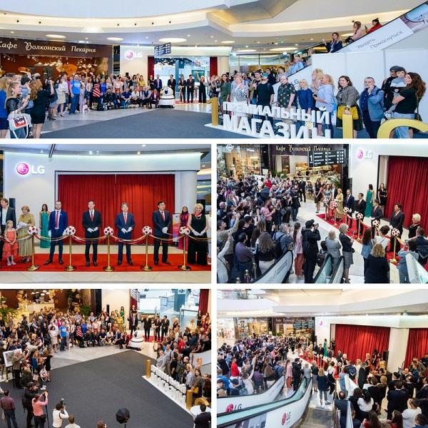 Открытие первого премиального магазина LG