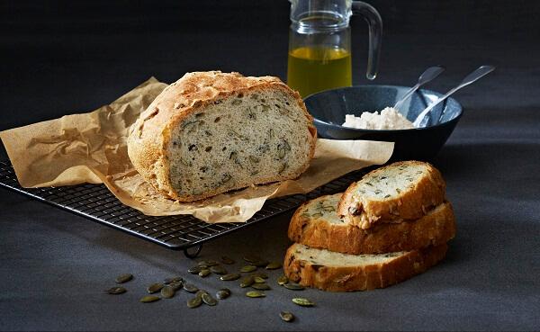 хлеб с хрустящей корочкой