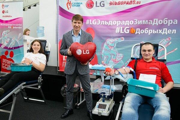 день донора LG