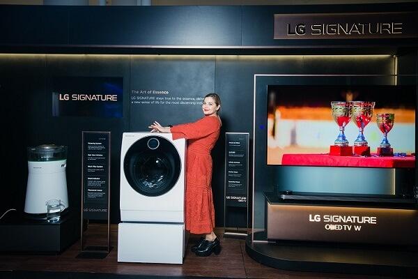 продвижение бренда LG SIGNATURE
