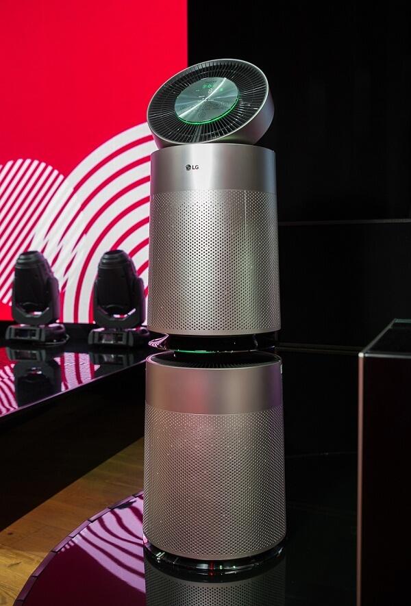 Очиститель воздуха LG PuriCare