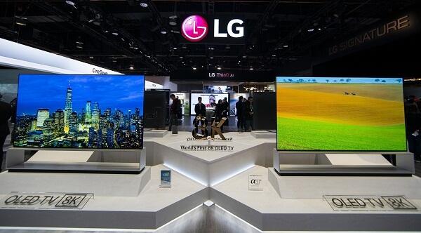 самый большой телевизор LG