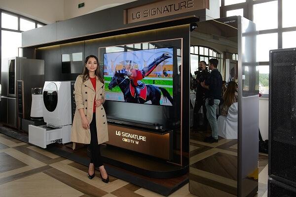 LG SIGNATURE и телеведущая Дильбар Файзиева