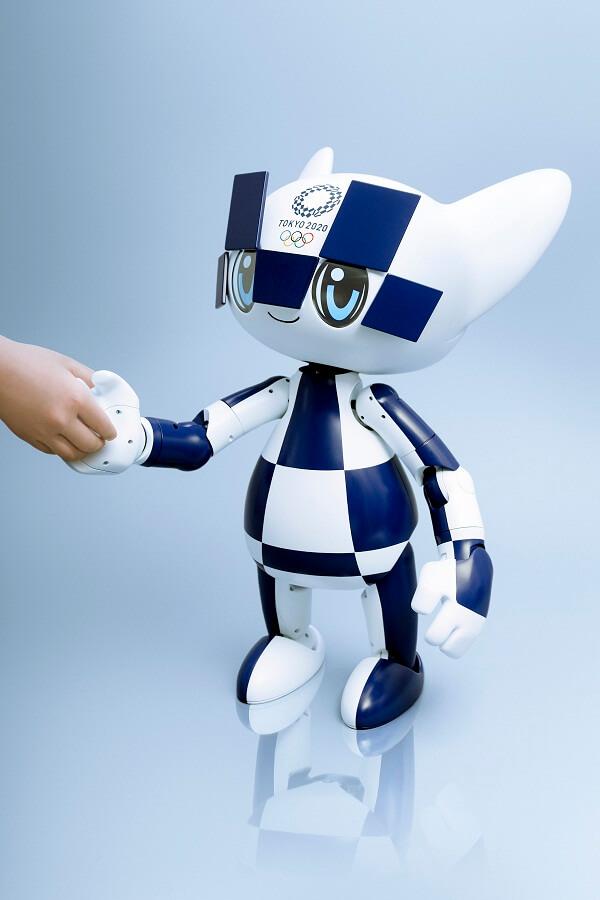 Роботизированные талисманы Олимпиады Токио-2020