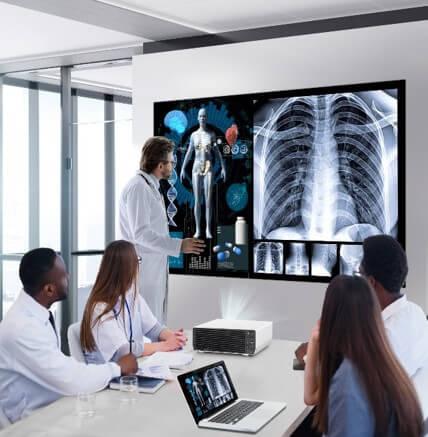 просмотр медицинских изображений