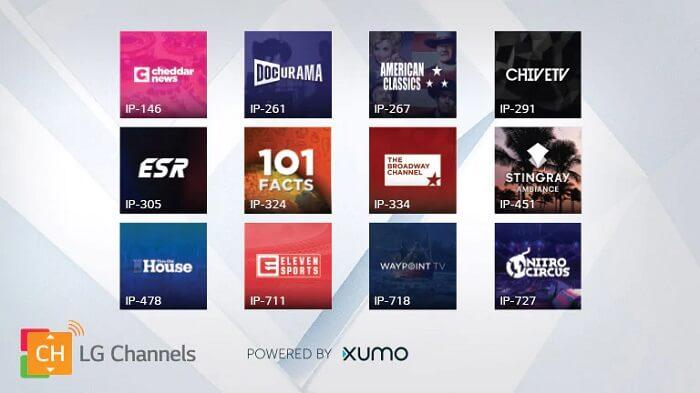 смарт-телевизоры LG