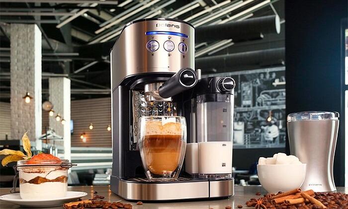 обзор рожковых кофеварок