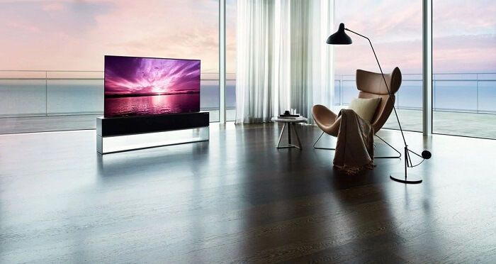 рулонный телевизор