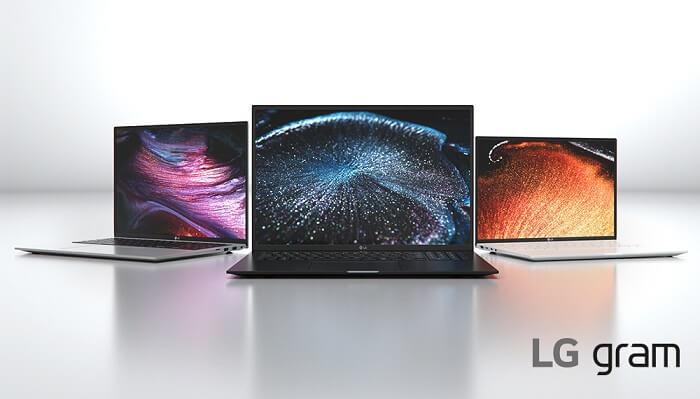 ультралегкие ноутбуки LG gram